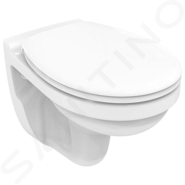 Ideal Standard ProSys - Set - Vorwandelement, Klosett und WC-Sitz Dolomite Quarzo, Betätigungsplatte Oleas M2, SoftClose, chrom matt ProSys80M SP110