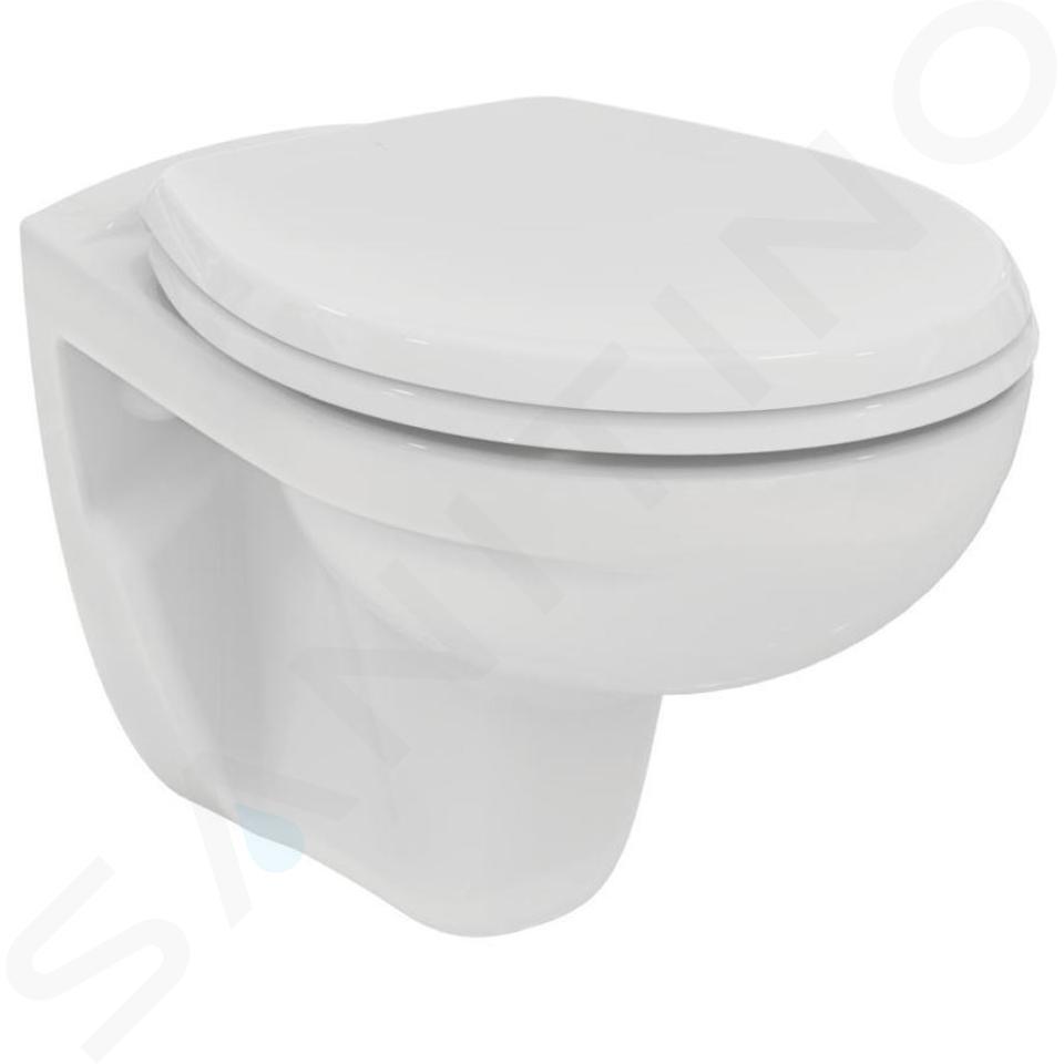 Ideal Standard ProSys - Toiletset- inbouwreservoir, closet, WC-zitting Eurovit, Oleas M2 bedieningsplaat, Rimless, Softclose, wit ProSys80M SP121