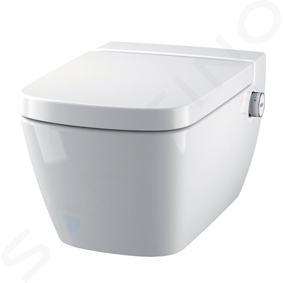 Ideal Standard ProSys - Toiletset- inbouwreservoir, douche-WC, WC-zitting TECEone, Oleas M1 bedieningsplaat, Rimless, SoftClose, chroom ProSys80M SP132