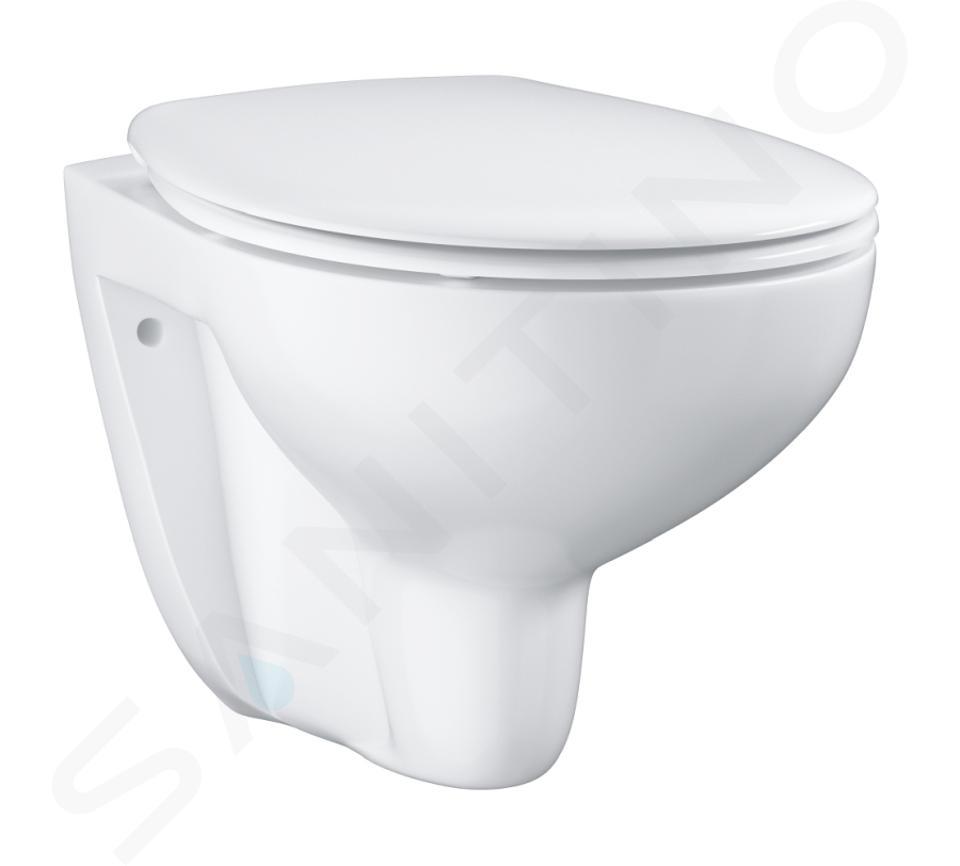 Ideal Standard ProSys - Set con modulo di installazione, vaso e copriwater Bau Ceramic, placca di comando Oleas M1, Rimless, SoftClose, cromo ProSys80M SP138