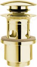 Sapho Silfra Příslušenství - Uzavíratelná výpusť pro umyvadla s přepadem, zlatá UD399S52