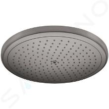 Hansgrohe Croma - Soffione doccia 280, EcoSmart, cromo nero spazzolato 26221340