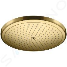 Hansgrohe Croma - Soffione doccia 280, EcoSmart, color oro lucido 26221990