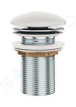 Ravak Odtokové systémy - Neuzatvárateľná umývadlová výpusť, biela X01695