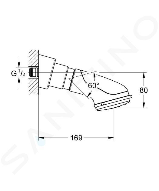 Grohe Relexa plus - Dual Hoofddouche, chroom 28190000