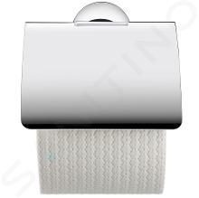 Duravit Starck T - Držák toaletního papíru s krytem, chrom 0099401000