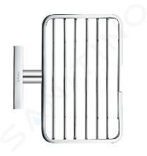 Duravit Karree - Porte-savon avec support, chrome 0099531000