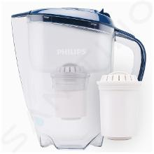 Philips Waterketels - Filter ketel met microfiltratie, 1500 ml, met timer, blauw/helder AWP2922/10