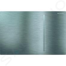 Geberit Sigma70 - Touch-Steuertaste für 2 Spülmengen, gebüster Edelstahl 115.625.FW.1