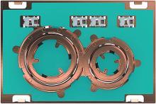 Geberit Sigma21 - Ovládacie tlačidlo na 2 množstvá splachovania, červené zlato/bez výplne 115.650.00.1