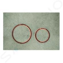 Geberit Sigma21 - Bedieningsplaat, dual flush spoeling, beton/rood goud 115.650.JV.1