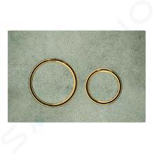 Geberit Sigma21 - Bedieningsplaat, dual flush spoeling, beton/mesing 115.652.JV.1