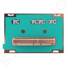 Geberit Sigma50 - Betätigungsplatte, 2 Mengenspülung, rotes Gold/ohne Füllung 115.670.00.2