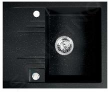 Novaservis Dřezy - Granitový dřez 580x480 mm, grafit DRGM48/58HA