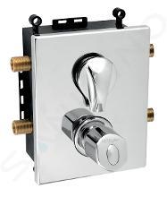 Novaservis Metalia 56 - Inbouw thermostaat voor 2 functies met binnenwerk, chroom BOX56052RT,0