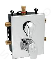 Novaservis Metalia 57 - Inbouw thermostaat voor 3 functies met binnenwerk, chroom BOX57052RXT,0