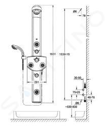 Grohe Aquatower - Aquatower 3000, chrom 27027000