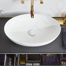 Villeroy & Boch Artis - Umyvadlo na desku, 610x410 mm, alpská bílá 41986101