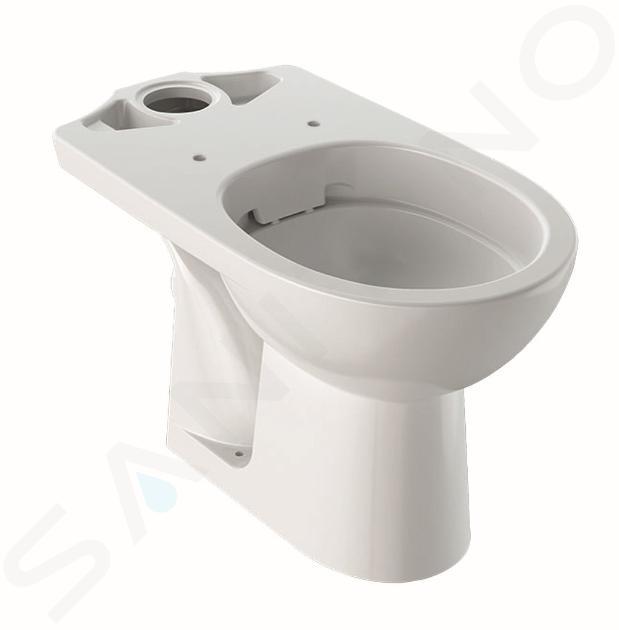 Geberit Selnova - cuvette de WC, sortie arrière, 665x356 mm, Rimfree, blanc 500.283.01.1