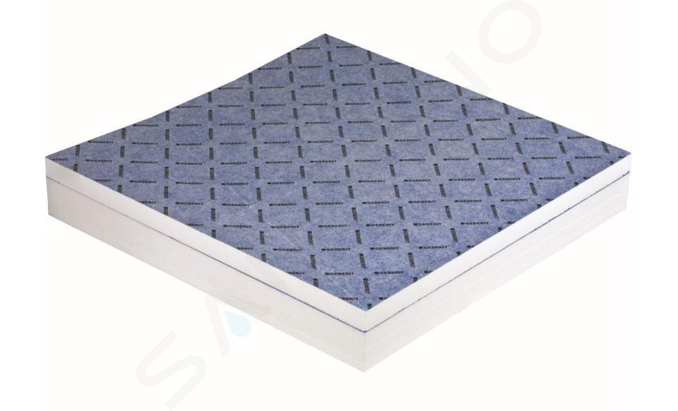 Geberit Accessoires - Receveur de douche 1200 x 900 mm, à carreler, avec pente en V 154.254.00.1