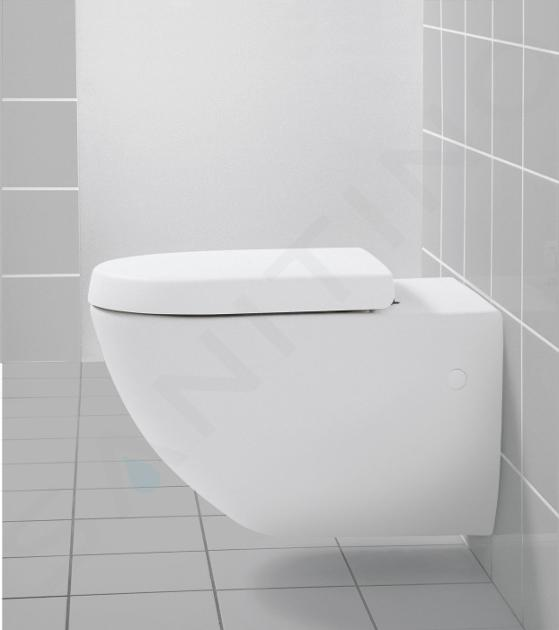 Villeroy & Boch Subway - Závěsné WC, zadní odpad, DualFlush, alpská bílá 66001001