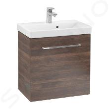 Villeroy & Boch Avento - Mobile da lavabo, 530x514x352 mm, anta singola, Arizona Oak A88800VH