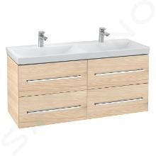 Villeroy & Boch Avento - Waschtischunterschrank, 1153x514x452 mm, 4 Auszüge, Elm Impresso A89300PN