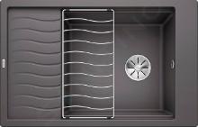 Blanco Elon XL 6 - Silgranitspüle, 780x500 mm, Felsgrau 524845