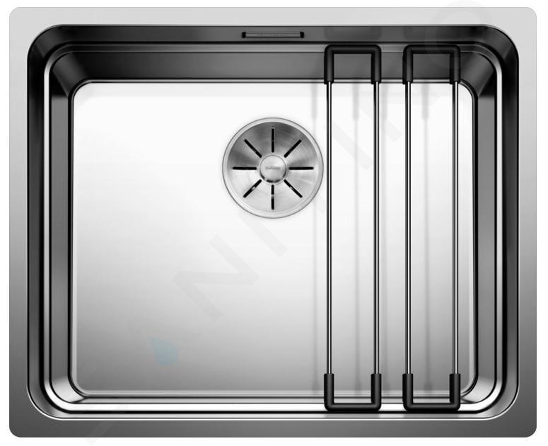Blanco Etagon 500 - Edelstahlspüle, 540x440 mm, mit Schienen 521841