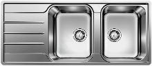 Blanco Lemis 8 - Évier, 1160x500 mm, inox brossé 523036
