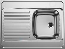 Blanco R-ES - Drez, 800x600 mm, nerezová 510500