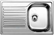 Blanco Tipo 45 - Dřez, 780x500 mm, Compact, profilovaná nerez 513675