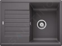 Blanco Zia XL 6 - Silgranitový drez, 780x500 mm, sivá skala 523274