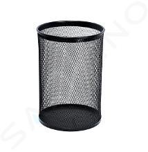 Sanela Draad prullenbak - Prullenbak 13 l, zwart SLZN 96E