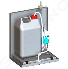 Sanela RVS zeepdispensers - Contactloze zeepdispenser voor plaatsing achter een spiegel SLZN 84J