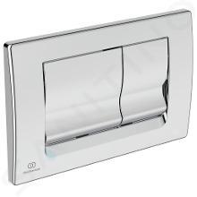 Ideal Standard Solea - Plaque de déclenchement de chasse d'eau Solea M1, chrome R0108AA
