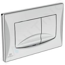 Ideal Standard Solea - Plaque de déclenchement de chasse d'eau Solea M2, chrome R0109AA