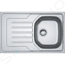 Franke Onda - Spoelbak OLN 611-79, 790x500 mm, rvs 101.0613.040
