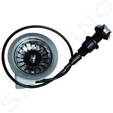 Franke Príslušenstvo - Otočný sitkový ventil 3 1/2 chróm 112.0304.621
