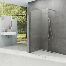 Ravak Walk-In - Sprchová stěna Walk-in Wall 130, 1300x2000 mm, lesklý hliník/čiré sklo GW9WJ0C00Z1