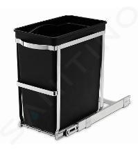 Simplehuman Afvalemmers - Uitschuifbare recyclebak voor onder het aanrecht 30 l CW1124
