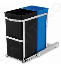 Simplehuman Afvalemmers - Uitschuifbare recyclebak voor onder het aanrecht 20/15 l CW1016